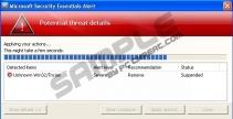 Windows Error Correction
